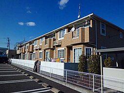 埼玉県加須市南大桑の賃貸アパートの外観