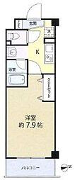 アズ本郷菊坂[2階]の間取り