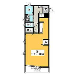 シティヒルズ[1階]の間取り