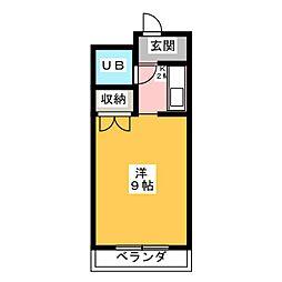 シャトレ妙興寺[2階]の間取り