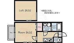 姪浜駅 4.5万円
