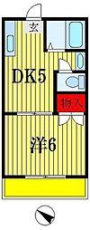 宮内マンション[3階]の間取り