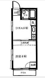 J・アスナロ[1階]の間取り