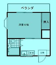 メゾン杉崎[3階]の間取り