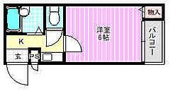 プレアール寝屋川高柳[3階]の間取り