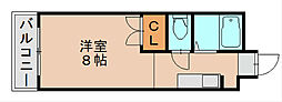 アミューズメント原田[1階]の間取り