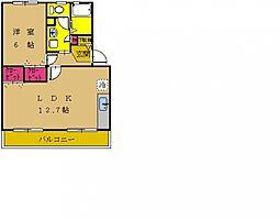 町田コープタウン8号棟[302号室号室]の間取り