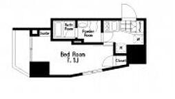 レジディア大森III bt[701kk号室]の間取り