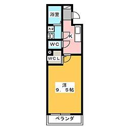 アプローズII[2階]の間取り