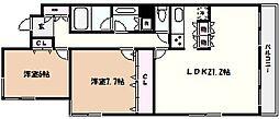 グランフォルム芦屋川別邸[3階]の間取り