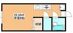 ネオハイツ西荻窪[203号室]の間取り