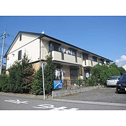 埼玉県富士見市ふじみ野西3丁目の賃貸アパートの外観