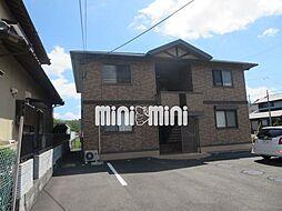 静岡県焼津市焼津の賃貸アパートの外観