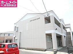 愛知県日進市野方町西島の賃貸アパートの外観