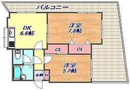 シーサ4[3階]の間取り
