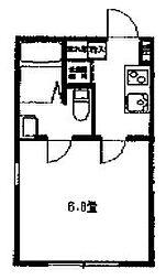マリーナヨコハマベイサイド[4階]の間取り