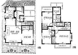 [一戸建] 東京都練馬区東大泉7丁目 の賃貸【/】の間取り