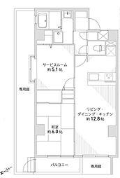 ドラゴンマンション橋本四番館 「橋本」駅 徒歩12分 角部屋