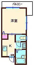 Jハウス[1階]の間取り