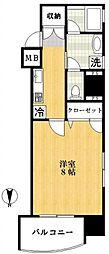 ル・サンパティーク[3階]の間取り