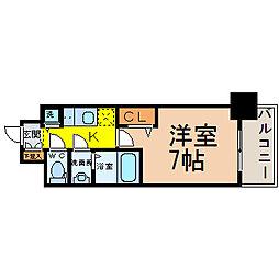 プレサンス栄ブリオ[5階]の間取り