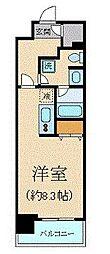 クリオ五反田[3階]の間取り