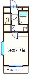 キャピタルヒロ[2階]の間取り