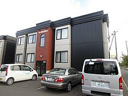 北海道札幌市北区屯田十条3丁目の賃貸アパートの外観