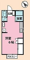 バンベール[2階]の間取り