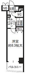 新大阪セレニテ[5階]の間取り