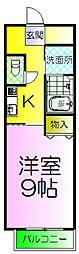 サザンクレスト堺[2階]の間取り