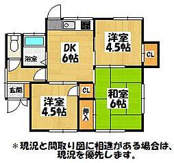[一戸建] 福岡県大野城市乙金台2丁目 の賃貸【/】の間取り