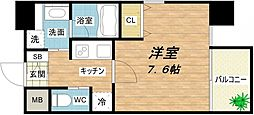 LUX GARDEN[4階]の間取り