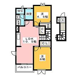 メゾン住吉[2階]の間取り