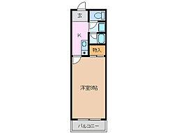 リバティベル[1階]の間取り