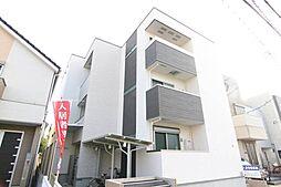 兵庫県尼崎市西立花町2丁目の賃貸アパートの外観