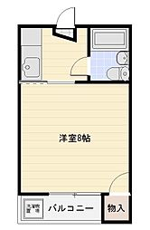 東栄コーポ[13号室]の間取り