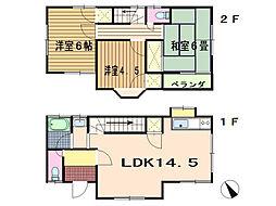 [一戸建] 静岡県伊東市十足 の賃貸【/】の間取り