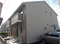 三重県鈴鹿市岡田3丁目の賃貸アパートの外観