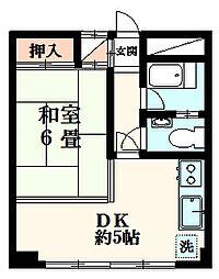 桜井ビル[3階]の間取り