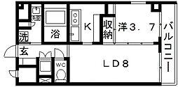 Loyal f Maison(ロイヤルエフメゾン)[2階]の間取り
