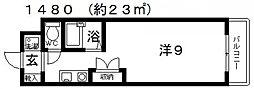 レーベンス・ラウム25[310号室号室]の間取り