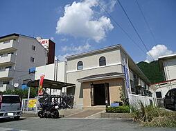 兵庫県篠山市大沢新の賃貸アパートの外観