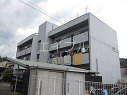 山マンション[1階]の外観