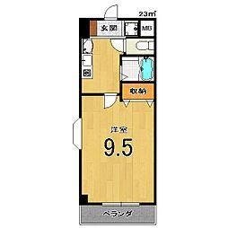 Condominio531[206号室]の間取り