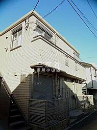 東京都品川区小山4丁目の賃貸アパートの外観