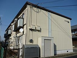 滋賀県東近江市建部日吉町の賃貸アパートの外観