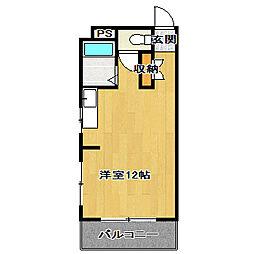 佐久間ハイツ[1階]の間取り