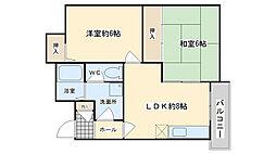 EtoileM・TII(エトワールエムティーツー)[307号室]の間取り