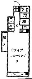 ファーイーストビル[4C号室]の間取り